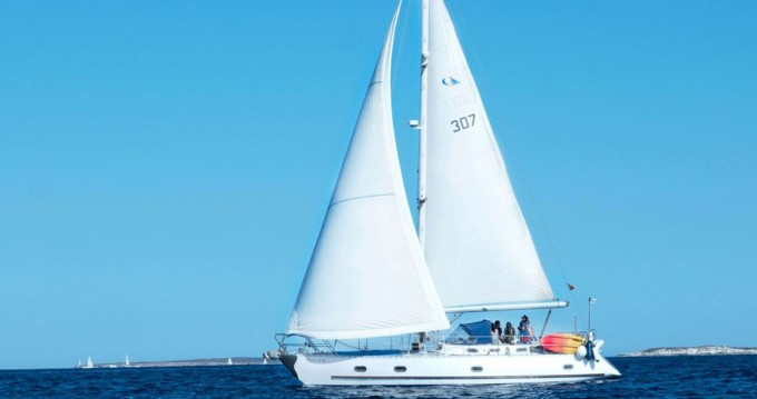 Rental Sailboat Amica with a permit