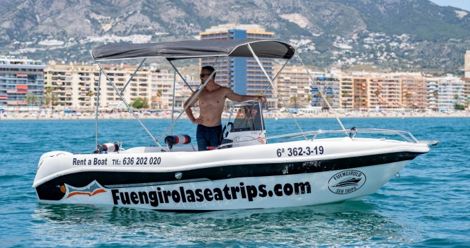 Rental Motorboat INDALBOATS with a permit