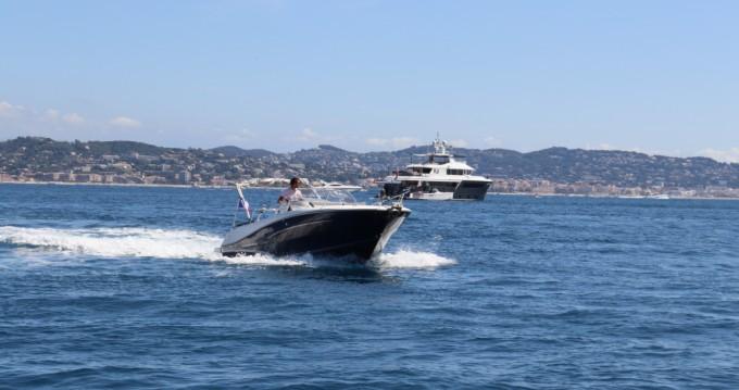 Rental Motorboat in Mandelieu-la-Napoule - Jeanneau Cap Camarat 7.5 WA