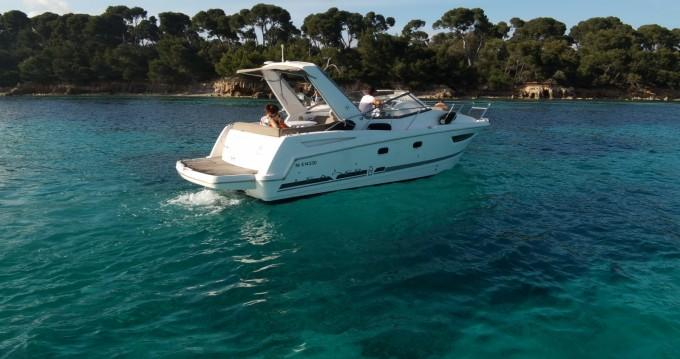 Rental Motorboat in Mandelieu-la-Napoule - Jeanneau Leader 8