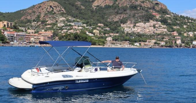 Boat rental Mandelieu-la-Napoule cheap millenum 19.20 efb