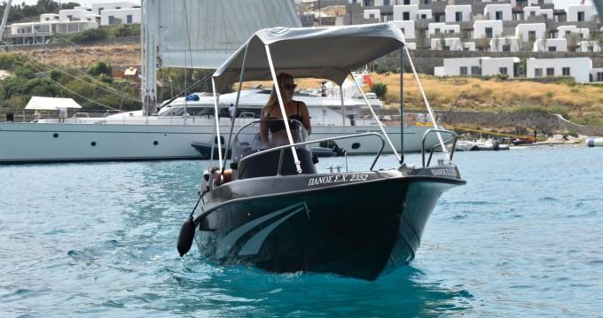 Rental yacht Mykonos (Island) - LA boat black edition 4.80 on SamBoat