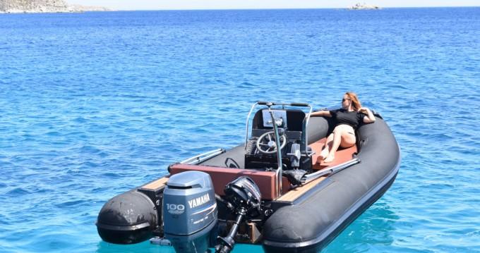 Boat rental Nautica Led Nautica Led 540 GS in Ornos on Samboat