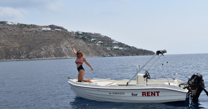 Hire Motorboat with or without skipper Assos Ornos