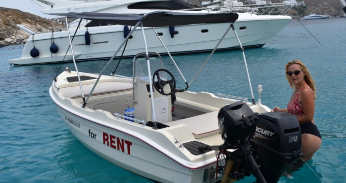 Rental Motorboat in Ornos - Assos 4.50