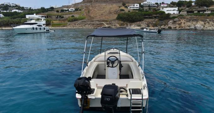 Boat rental Assos 4.50 in Ornos on Samboat
