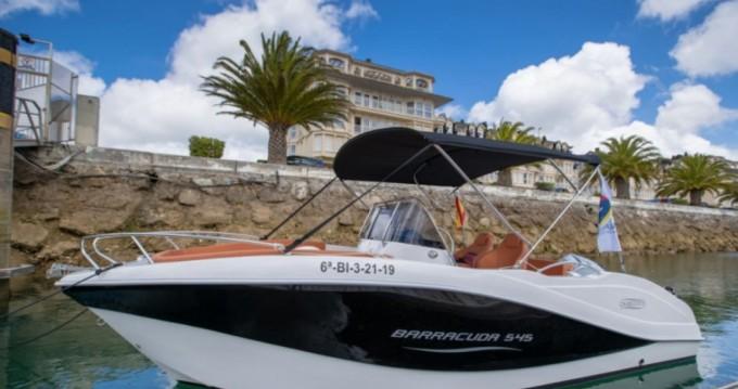 Rent a Okiboats Barracuda 545 Open Santander