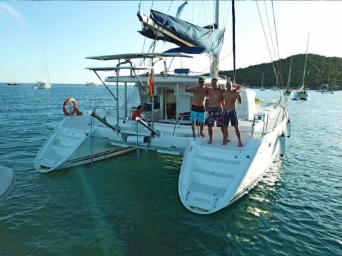 Rental yacht Saint-Mandrier-sur-Mer - Lagoon Lagoon 440 on SamBoat
