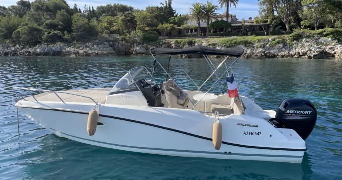 Rent a Quicksilver Activ 675 Sundeck Sport Cannes