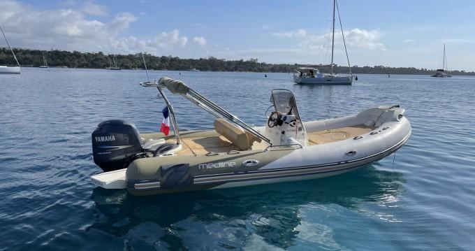 Boat rental Antibes cheap Medline 650 Neo