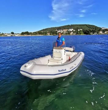 Rent a Bombard Explorer 500 SB Port de Sète