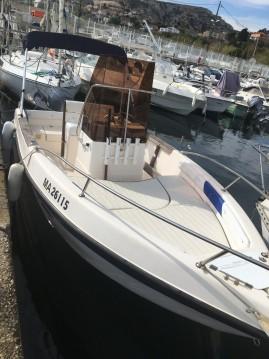 Rental Motorboat in Marseille - Mano Marine 18 open new millenieum