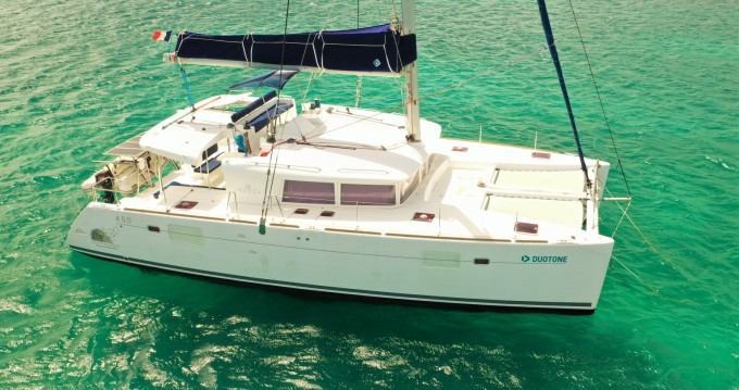 Lagoon Lagoon 450 F between personal and professional Le Gosier