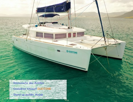Catamaran for rent Le Gosier at the best price