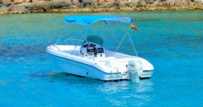 Hire Motorboat with or without skipper Ranieri Sant Antoni de Portmany