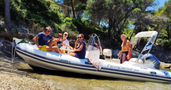 Rental RIB in Six-Fours-les-Plages - Capelli Tempest 600