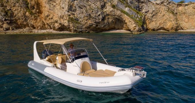 Boat rental Ibiza Island cheap Medline 3