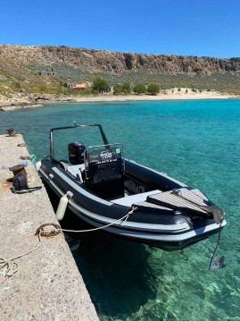 Hire RIB with or without skipper Predator Kissamos