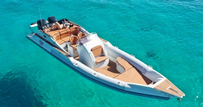 Skipper sport cabin 95 between personal and professional Kissamos