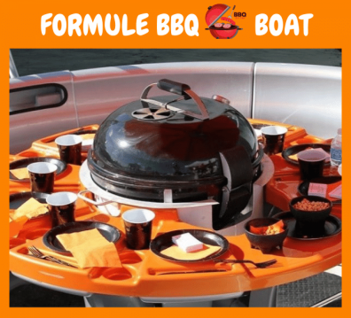 BBQ boat BBQ boat between personal and professional Cergy
