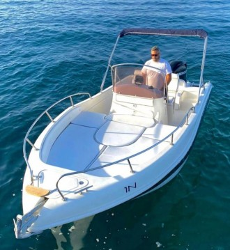Hire Motorboat with or without skipper Blu-Blu Monopoli