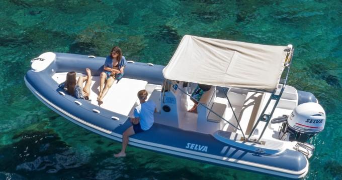 Boat rental Sorrento cheap Selva 680