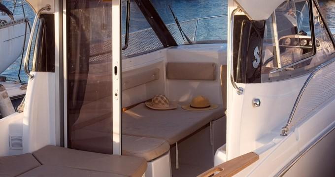 Boat rental Barcelona cheap Antares 680