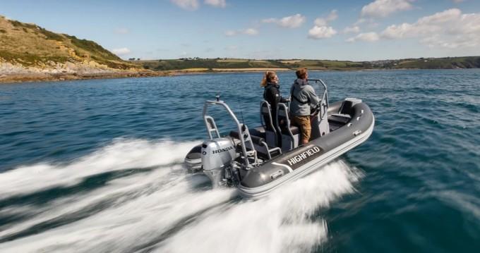 Rental yacht Siracusa - Highfield Patrol 500 on SamBoat