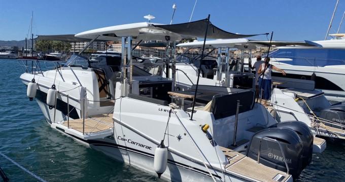 Boat rental Cogolin cheap Cap Camarat 10.5 WA série 2