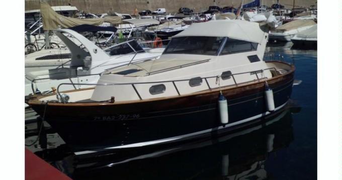 Boat rental Apreamare Smeraldo 8 Cabin in Mykonos (Island) on Samboat