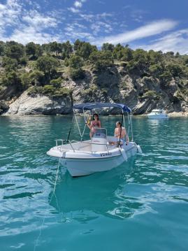 Boat rental Astec Astec Fiber 450 in Roses on Samboat
