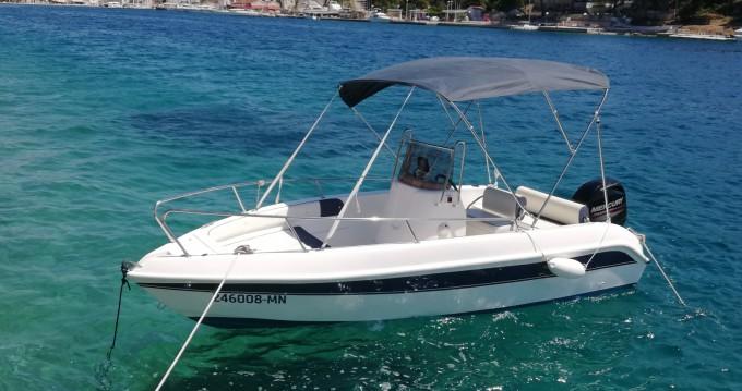 Rental Motorboat in Milna - Bellingardo Open