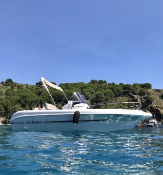 Rental Motorboat in Roses - Darekco Texas 580