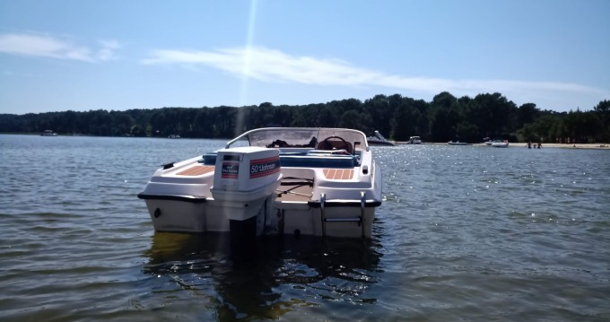 Rental Motorboat Gobbi with a permit