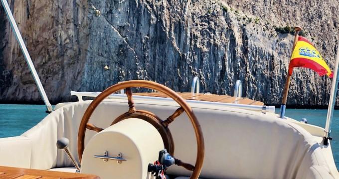 Boat rental Puerto Campomanes Greenwich cheap Rio Mar 615