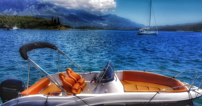 Boat rental Lepetani cheap Baracuda 545