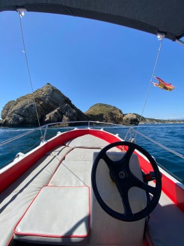 Rental Motorboat in Javea - Whaly whaly 435
