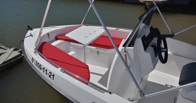 Boat rental Compass Compass 150 CC in La Antilla on Samboat