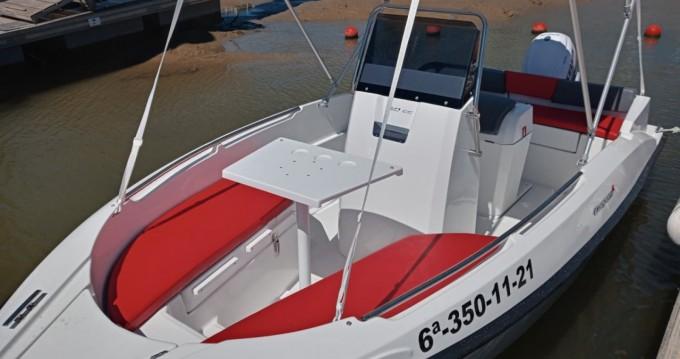 Boat rental La Antilla cheap Compass 150 CC