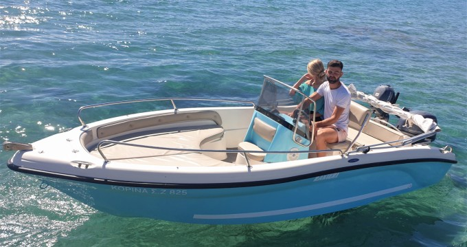 Boat rental Poseidon Azzura 500  in Zakynthos (Island) on Samboat