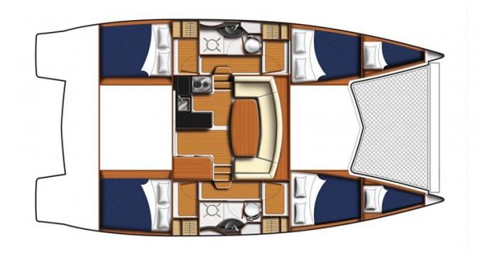 Rental Catamaran in Porto turistico Marsala - Robertson and Caine LEOPARD 38