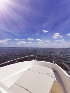 Rental Motorboat in Port d'Arcachon - Quicksilver Activ 505 Open