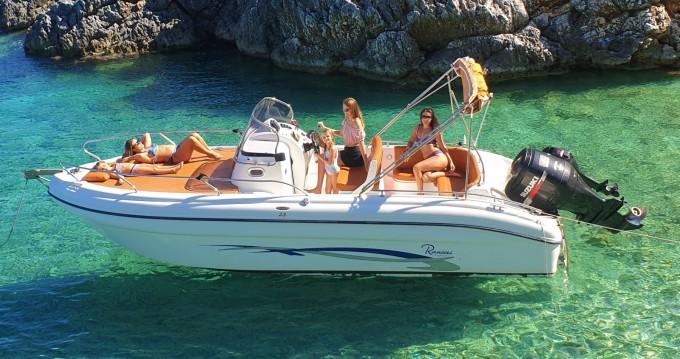 Rental Motorboat in Tsilivi - Ranieri Shadow 23