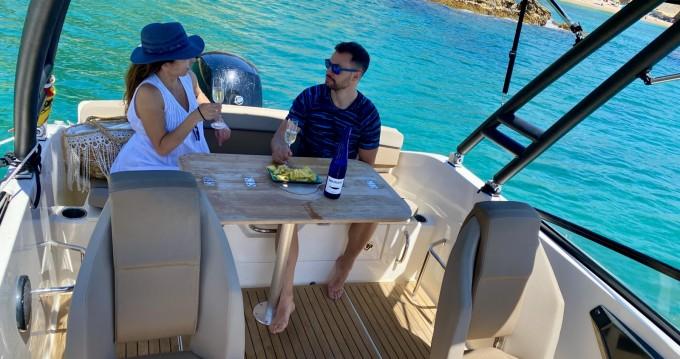 Boat rental Blanes cheap Activ 605 Bowrider
