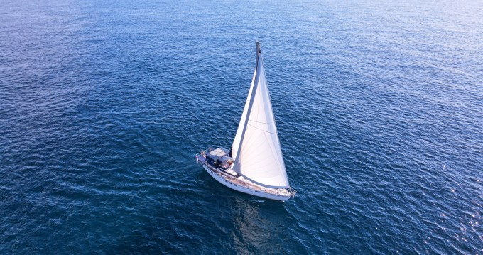 Rental Sailboat Dynamique with a permit
