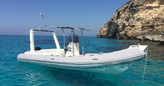 Boat rental Master Master 730 DIVING in La Savina on Samboat