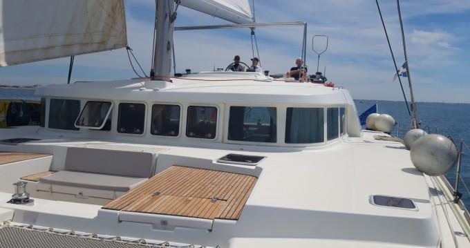 Boat rental Bonifacio cheap Lagoon 500