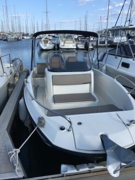 Rental Motorboat in Canet-en-Roussillon - Quicksilver Activ 675 Open
