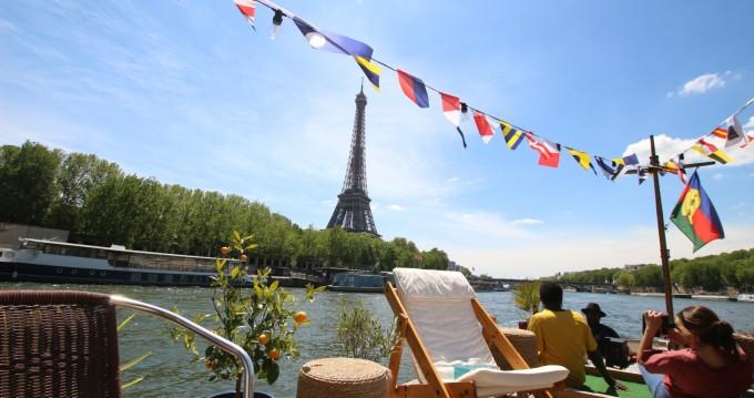 Rental Canal boat in Paris - Peniche Péniche