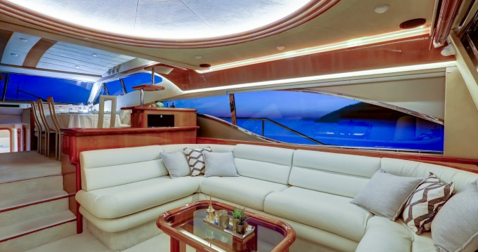 Hire Yacht with or without skipper Ferretti Agios Kosmas